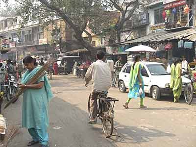 Einkaufen in Pahar Ganj