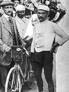 1903: der erste Tour-Gewinner Garin, ap