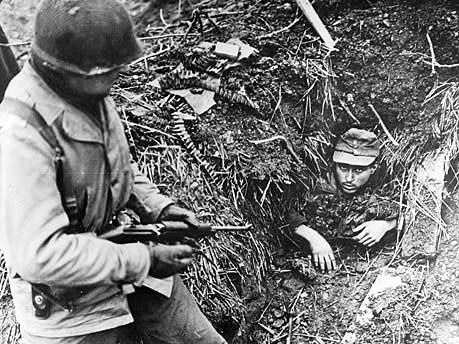 US-Soldat Wehrmacht Landser 1945 dpa