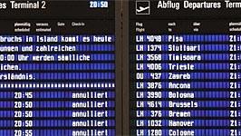 Flugchaos in Europa