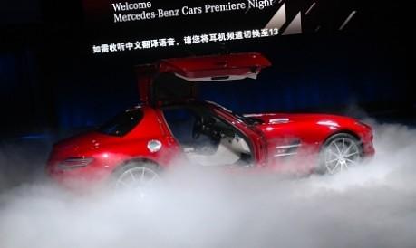 Peking Motorshow Mercedes SLS AMG