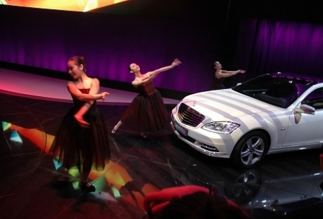 Peking Motorshow Mercedes E-Klasse Langversion