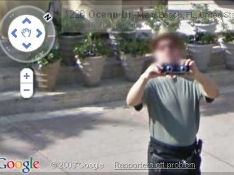 Google Street View zwei Kameras