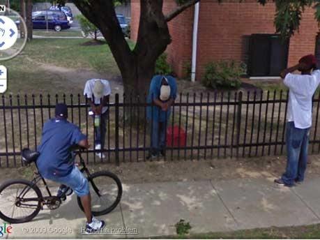 Google Street View Cleveland Verstecken