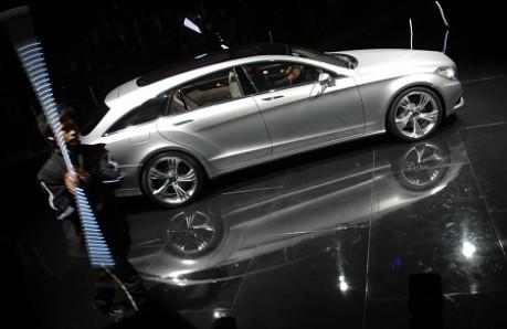 Peking Motorshow Mercedes CLS Shooting Break