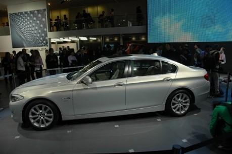 Peking Motorshow 5er BMW