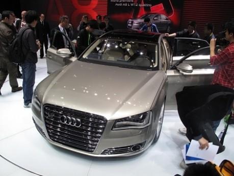 Peking Motorshow Audi A8 L