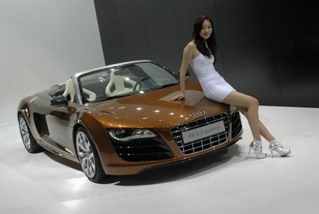 Peking Motorshow Audi R8 Spyder