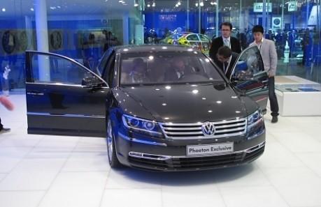 Peking Motorshow VW Phaeton