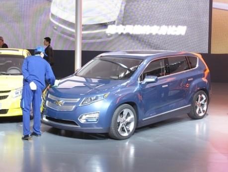 Peking Motorshow Chevrolet Volt