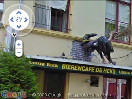 Google Street View Hexe