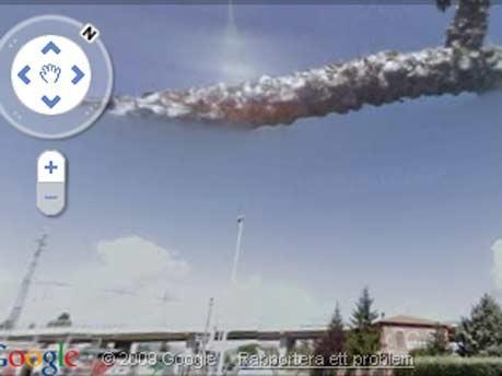Google Street View Italien Außerirdische