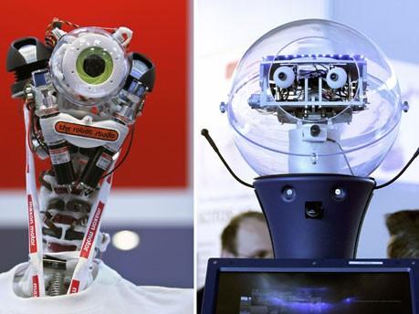 Roboter, Hannover Messe, Foto: ddp