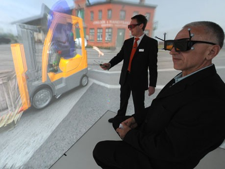 3D-Animation, Hannover Messe, Foto: dpa
