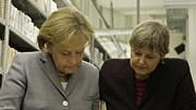 Merkel, Birthler, AP