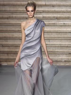 Schleierhafte Mode, Haute Couture Paris, Stephane Rolland; AFP