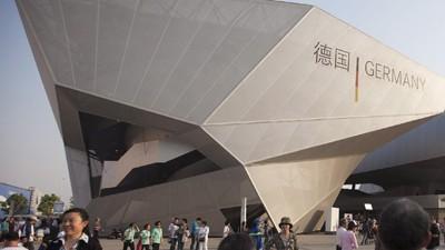 Expo Shanghai, deutscher Pavillon; dpa