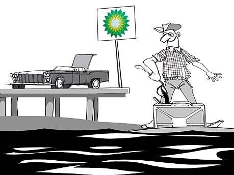 Ölteppich Ölkatastrophe Florida
