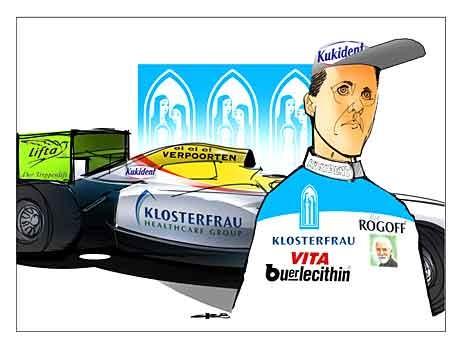 Formel 1 Mercedes Michael Schumacher