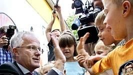 Debatte um Schulsystem: Ein Freund der Kinder und des traditionellen Schulsystems: Jürgen Rüttgers.
