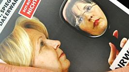 Postkarte der NRW-CDU zur Wahl, dpa