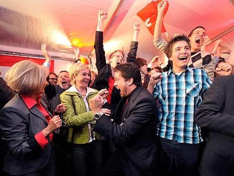 Jubel, SPD, Landtagswahlen NRW