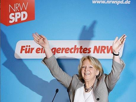 Jubel, SPD, Hannelore Kraft, Reuters
