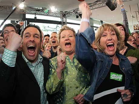 Wahl, NRW, Grüne, Löhrmann, dpa