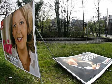Wahlplakate, Landtagswahl NRW