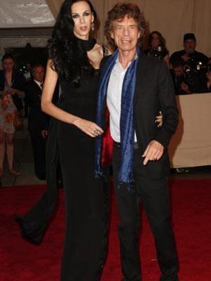 Mick Jagger; L'Wren Scott