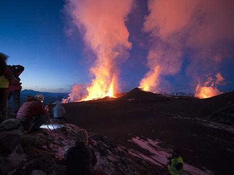 Island, Vulkan Eyjafjallajökull