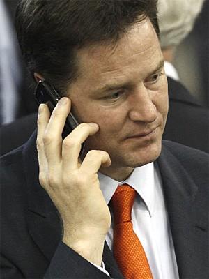 Nick Clegg, Reuters