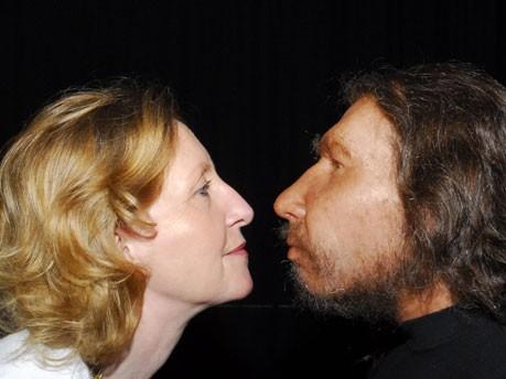 Mensch und Neandertaler, dpa