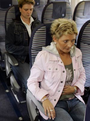 User geben Airlines Spartipps, ddp