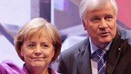 Horst Seehofer, Angela Merkel, Getty Images