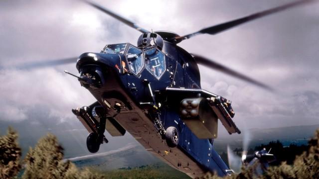 """Kampfhubschrauber Eurocopter \""""Tiger\"""", 2001"""