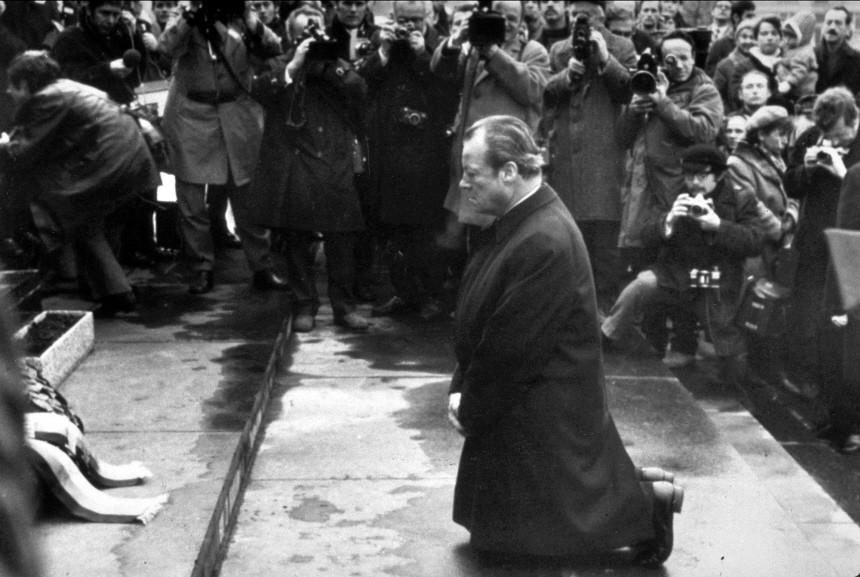 Kniefall Willy Brandts in Warschau, 1970
