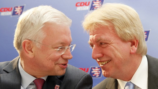 Roland Koch, Volker Bouffier