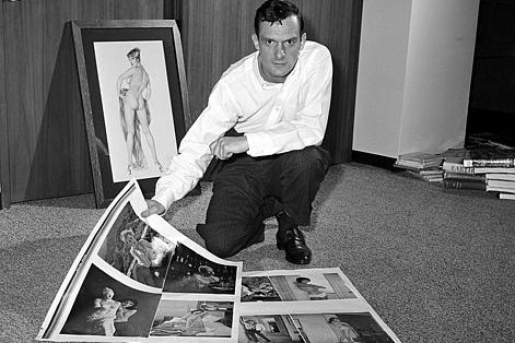 Playboy Magazine Cover,Playboy Magazine, Hugh Hefner