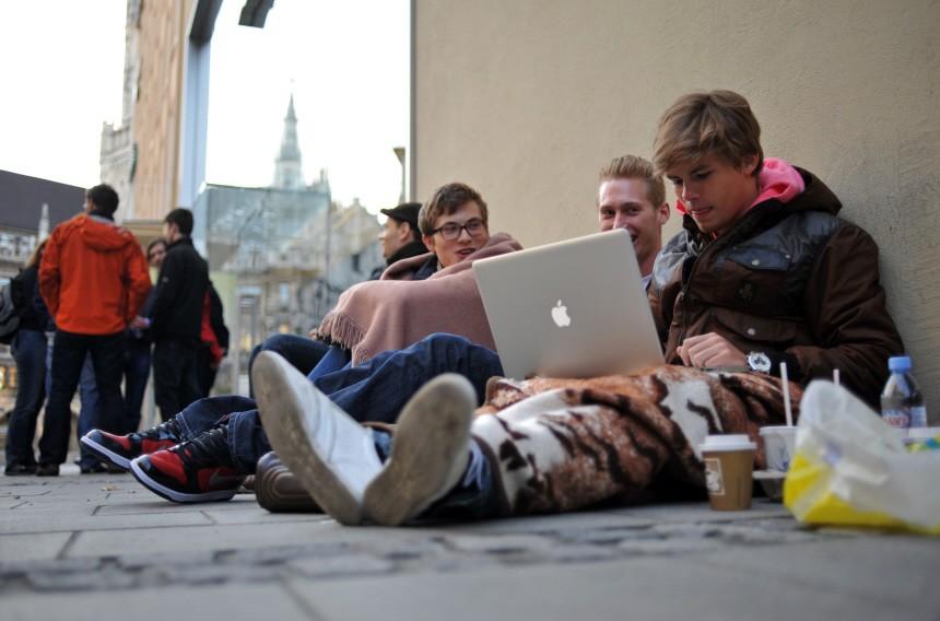 iPad-Verkaufsstart in Deutschland