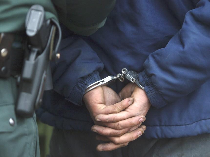 Handschellen Kriminalitaet Polizei