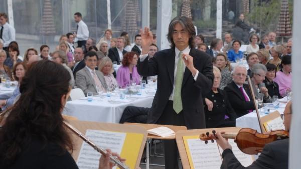 Kent Nagano beim Sponsoren-Sommerfest, 2009