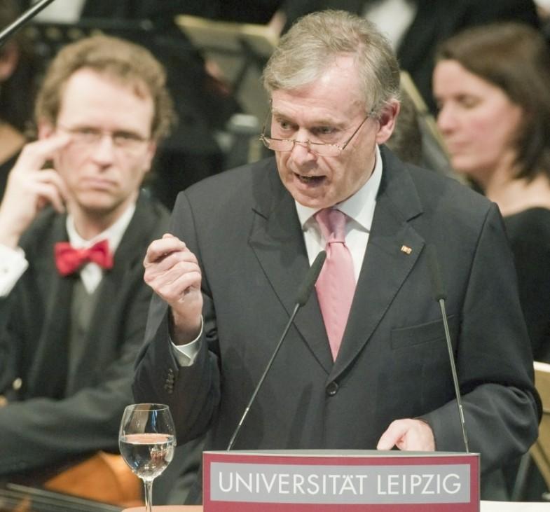 600 Jahre Universität Leipzig - Festakt Köhler