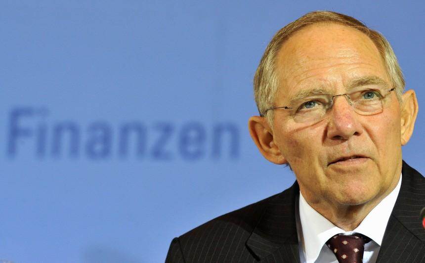 Der US-amerikanische Finanzminister Geithner trifft Amtskollegen Schaeuble