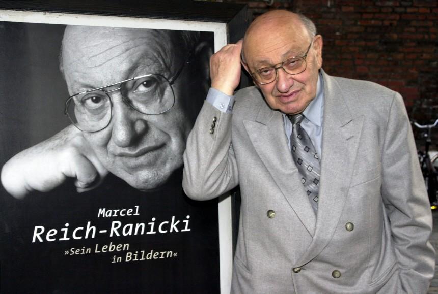 Literaturkritiker Marcel Reich-Ranicki