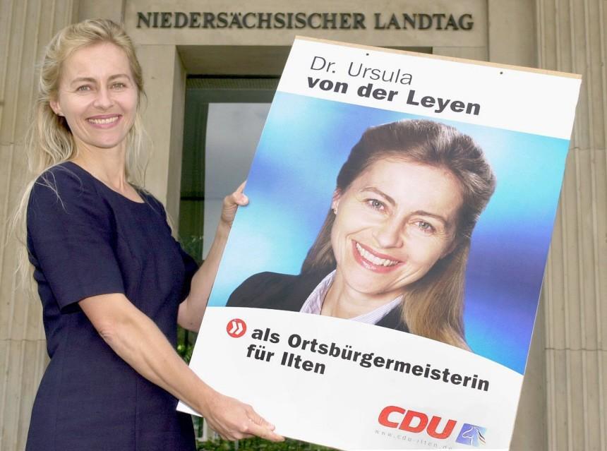 Ursula von der Leyen, 2001