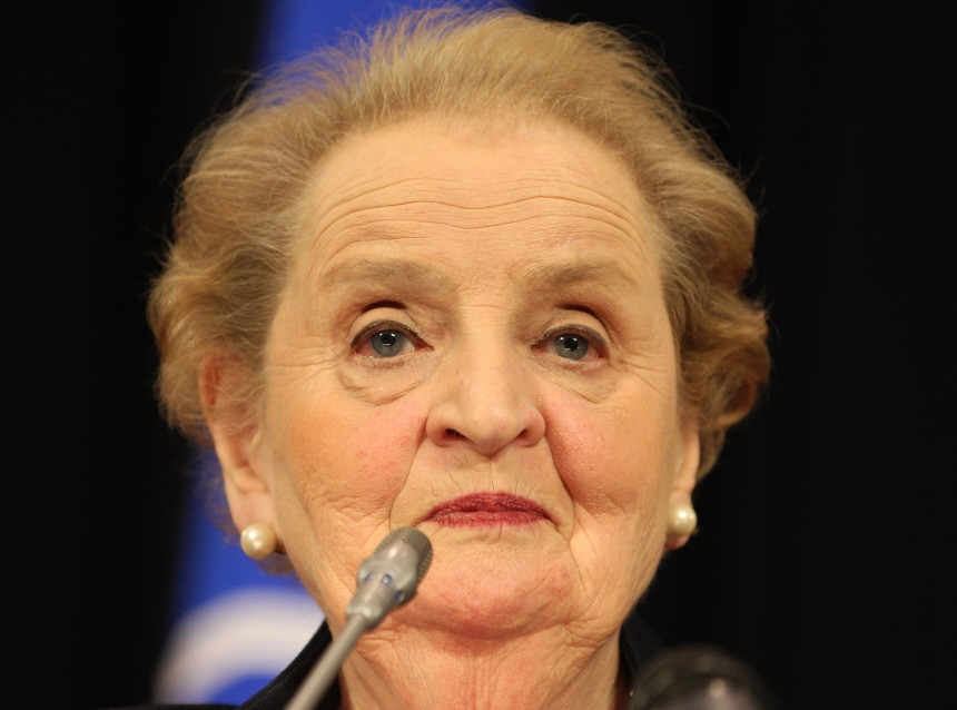 Madeleine Albright Job