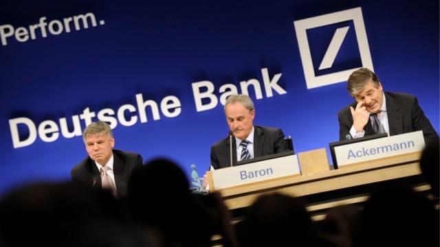 Bilanzpressekonferenz Deutsche Bank AG