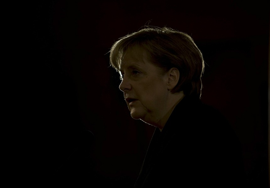 German Chancellor Merkel Visits Gulf States