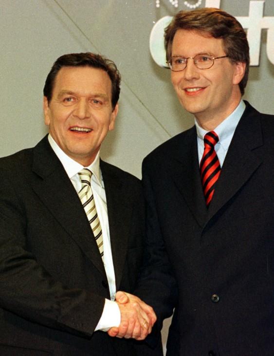 Gerhard Schröder und Christian Wulff, 1998